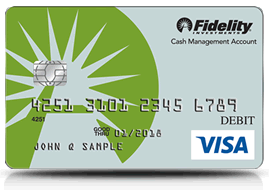 Fidelity Cash Management Account Card