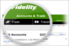 Image: Screenshot of the Accounts & Trade page.