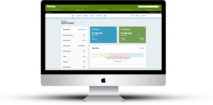 Full View - all your online financial information in one