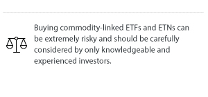 Buying commodity-linked ETFs and ETNs