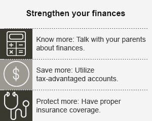 Strengthen your finances