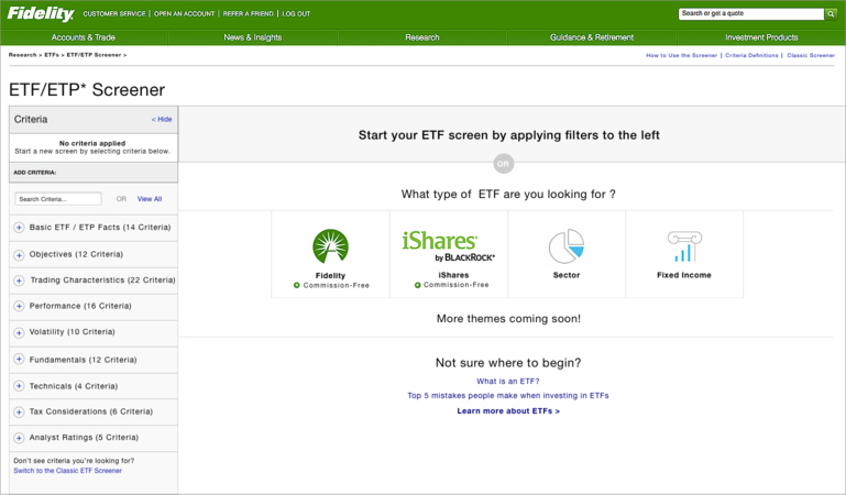 learn about etfs