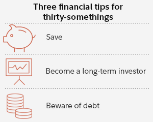 Three financial tips for thirty-somethings