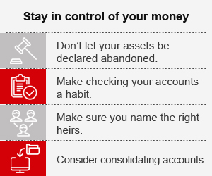 Stay in control of your money