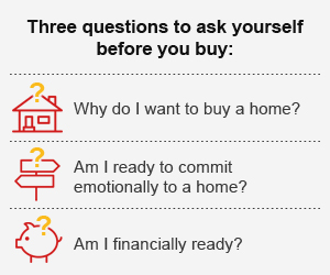Three questions to ask yourself before you buy: