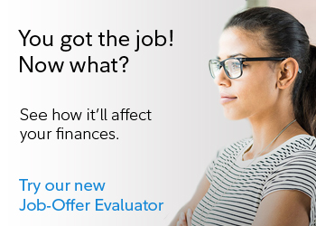 Try our new job offer evaluator