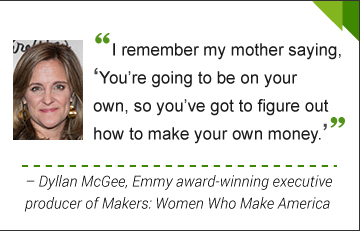 Dyllan McGee, Emmy award–winning executive producer of Makers: Women Who Make America