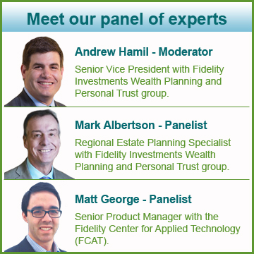 Meet our panel of experts