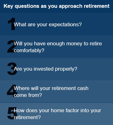 Key questions as you approach retirement