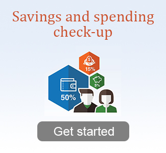 Savings and spending checkup