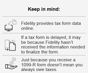 Tax Form Questions Explained - Fidelity