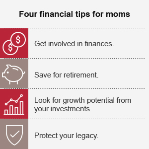 Financial tips for moms