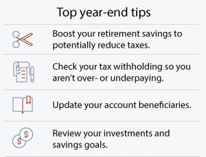 Top year-end tips