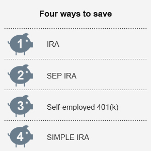 Four ways to save