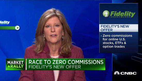 Fidelity Zero Commission video on CNBC