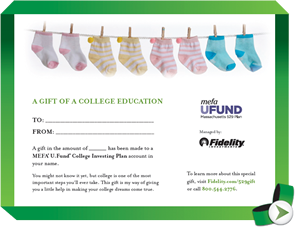 Mefa U Fund College Investing Plan Account Templates