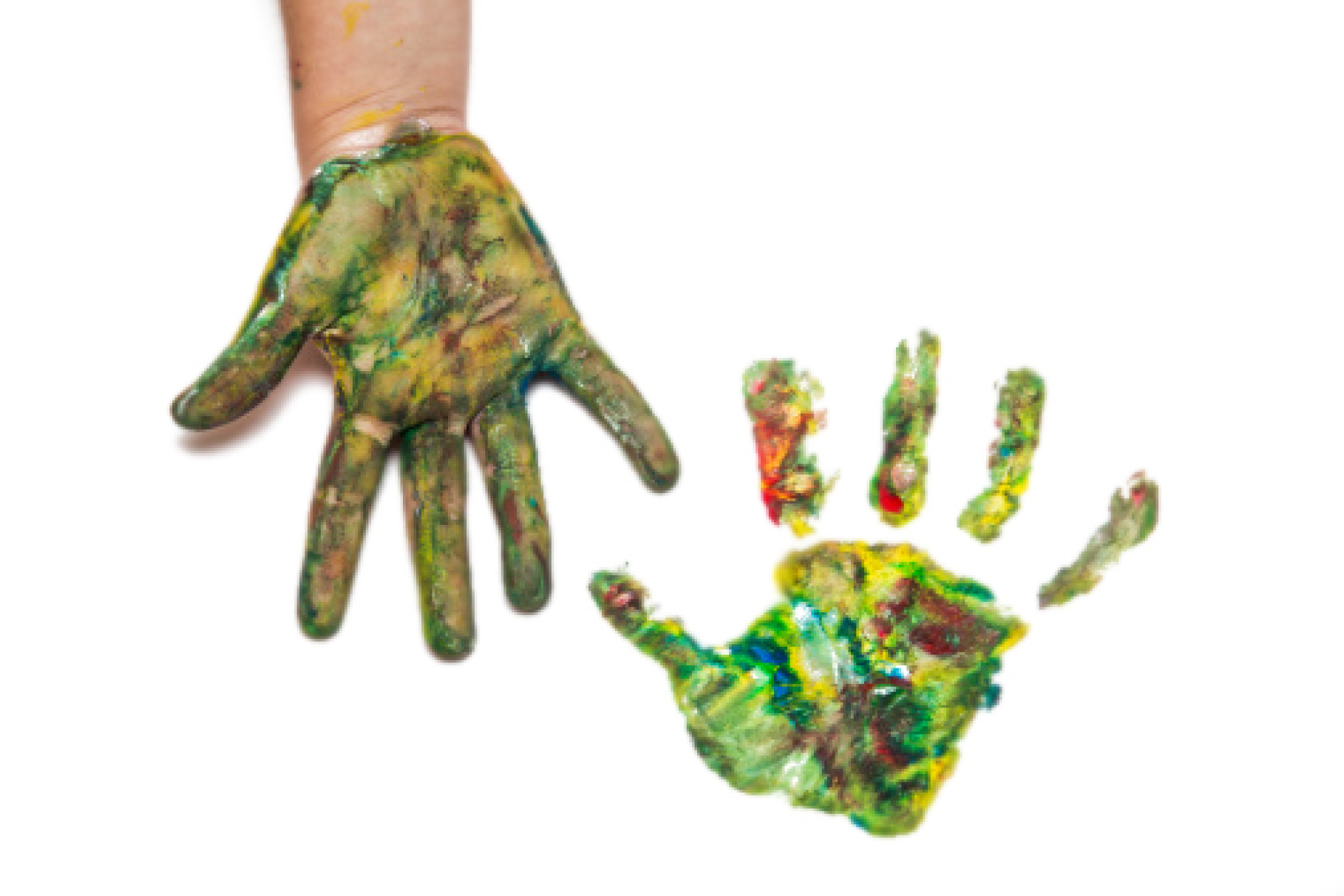 painted-hands