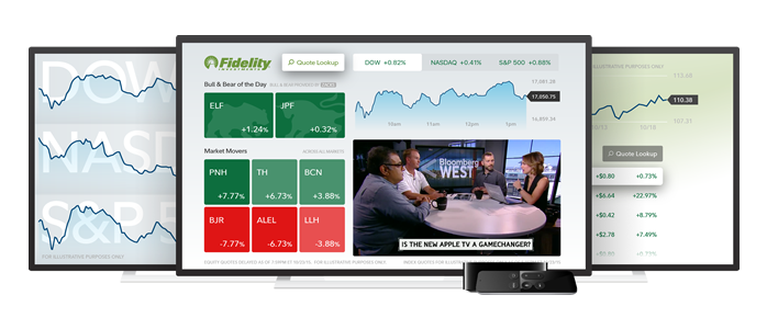 Fidelity Stock Quotes New Fidelity App For Apple Tv