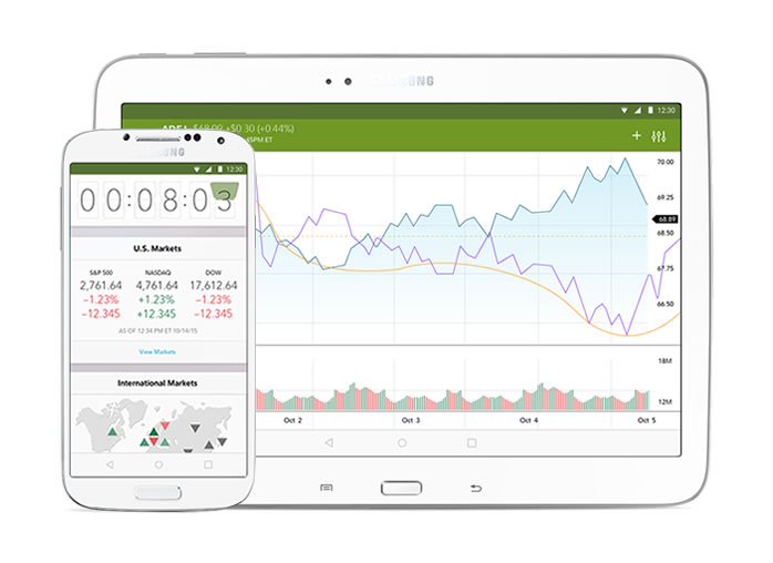 Fidelity's Android Apps