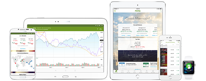 Mobile Trading Apps for Smartphones from Fidelity