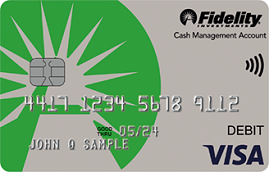 Cash Management Account from Fidelity