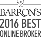 Barrons 2016 Best Online Broker