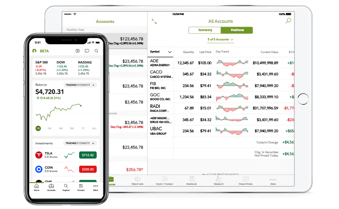 Mobile Finance - Fidelity