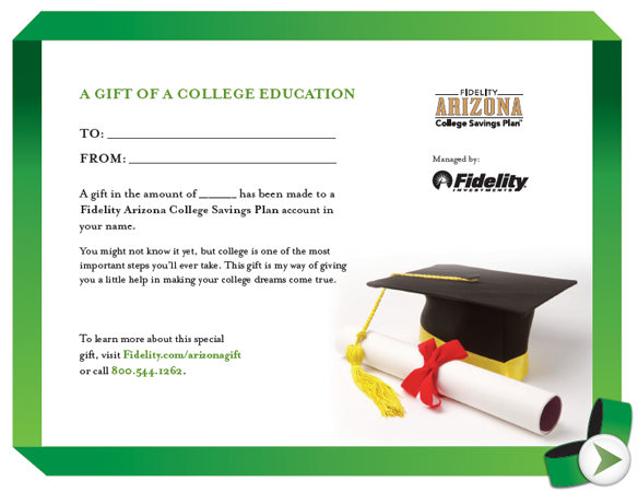 arizona college savings plan fidelity
